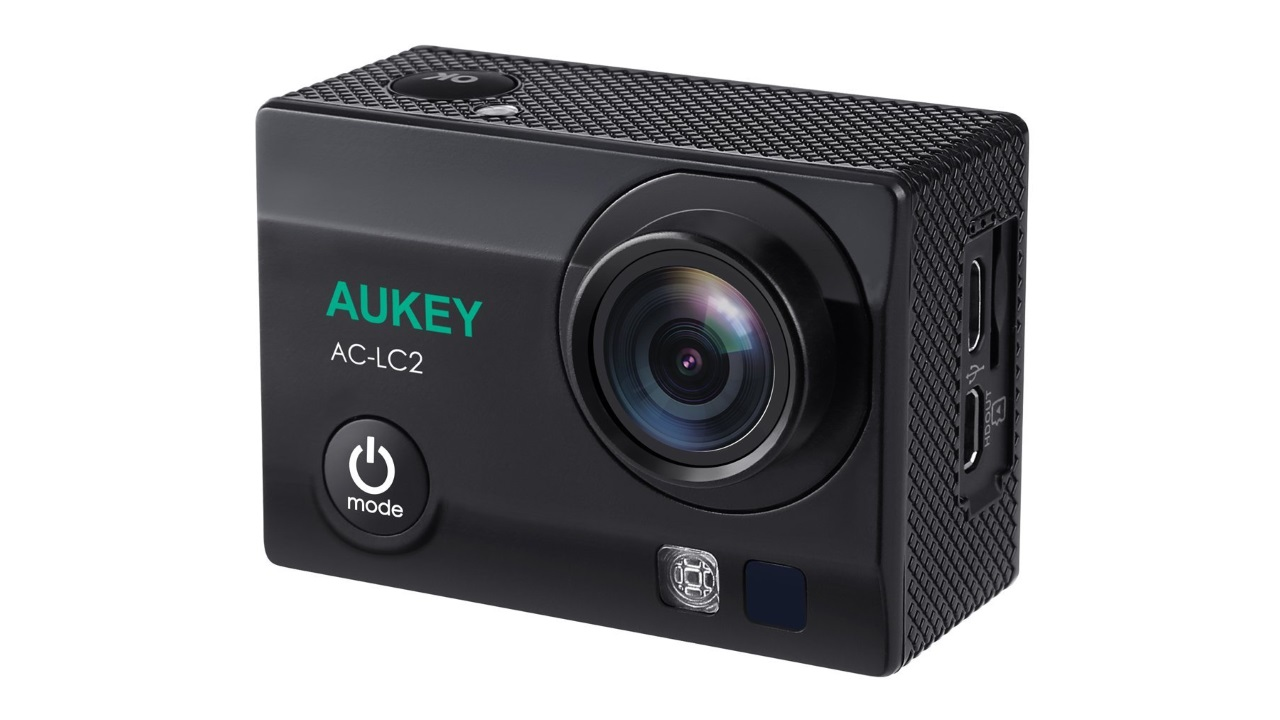 AUKEY、4K撮影対応&遠隔操作可能な9,000円程度のアクションカム「AC-LC2」を発売