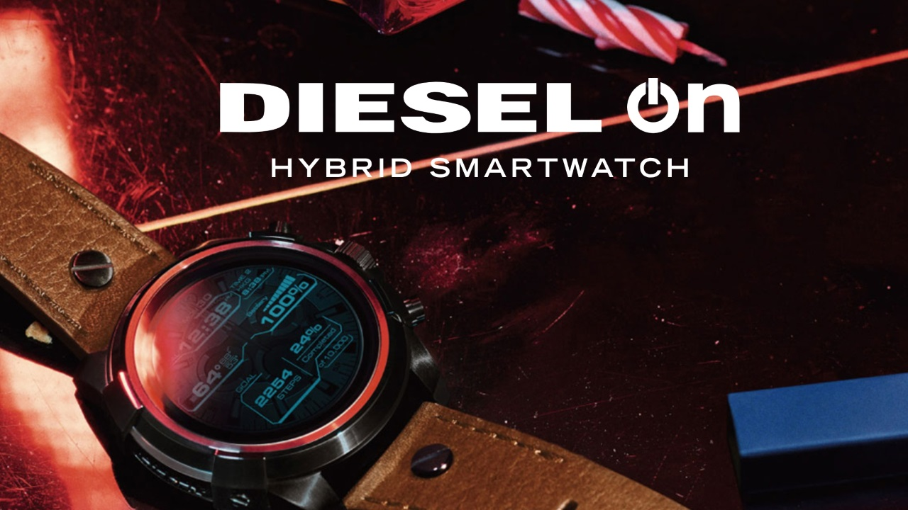DIESEL、初のAndroid Wear「DIESEL On」を一部発売