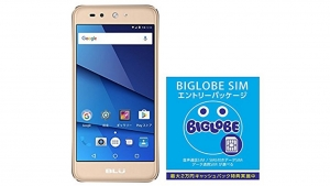 Amazonで「BLU GRAND X LTE」+SIMセットが全て6,800円に