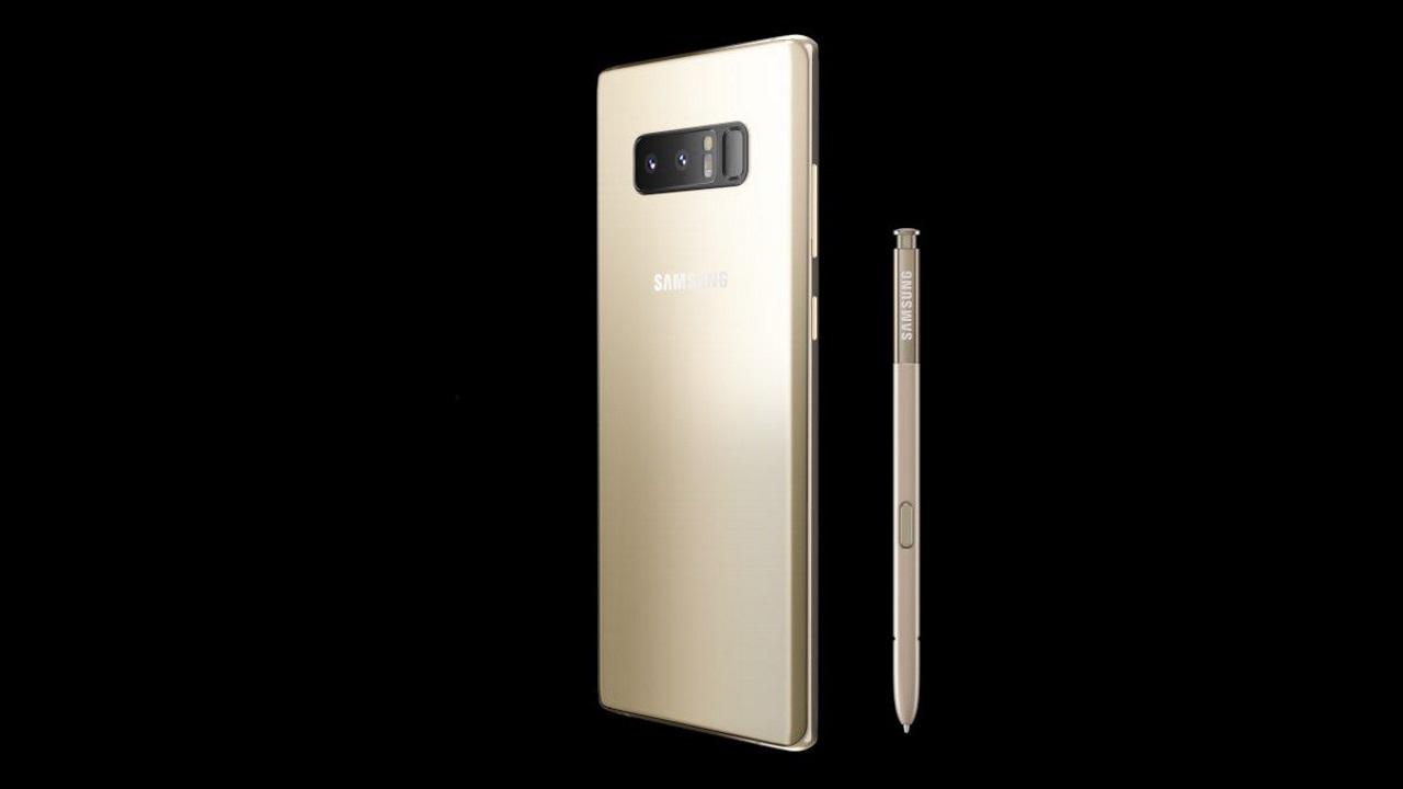 イオシスに「Galaxy Note8」ゴールドが入荷