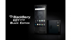 FOX、「BlackBerry KEYone BLACK EDITION」を9月下旬に国内発売