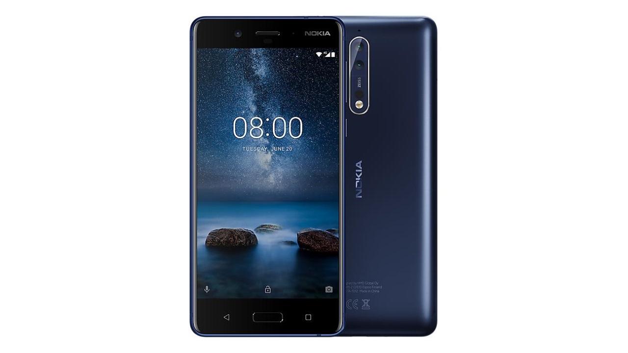 Cloveに「Nokia 8」テンパードブルーが入荷