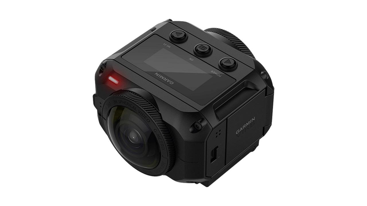 Garmin、10m防水対応のハイスペックVRアクションカム「VIRB360」を国内発売