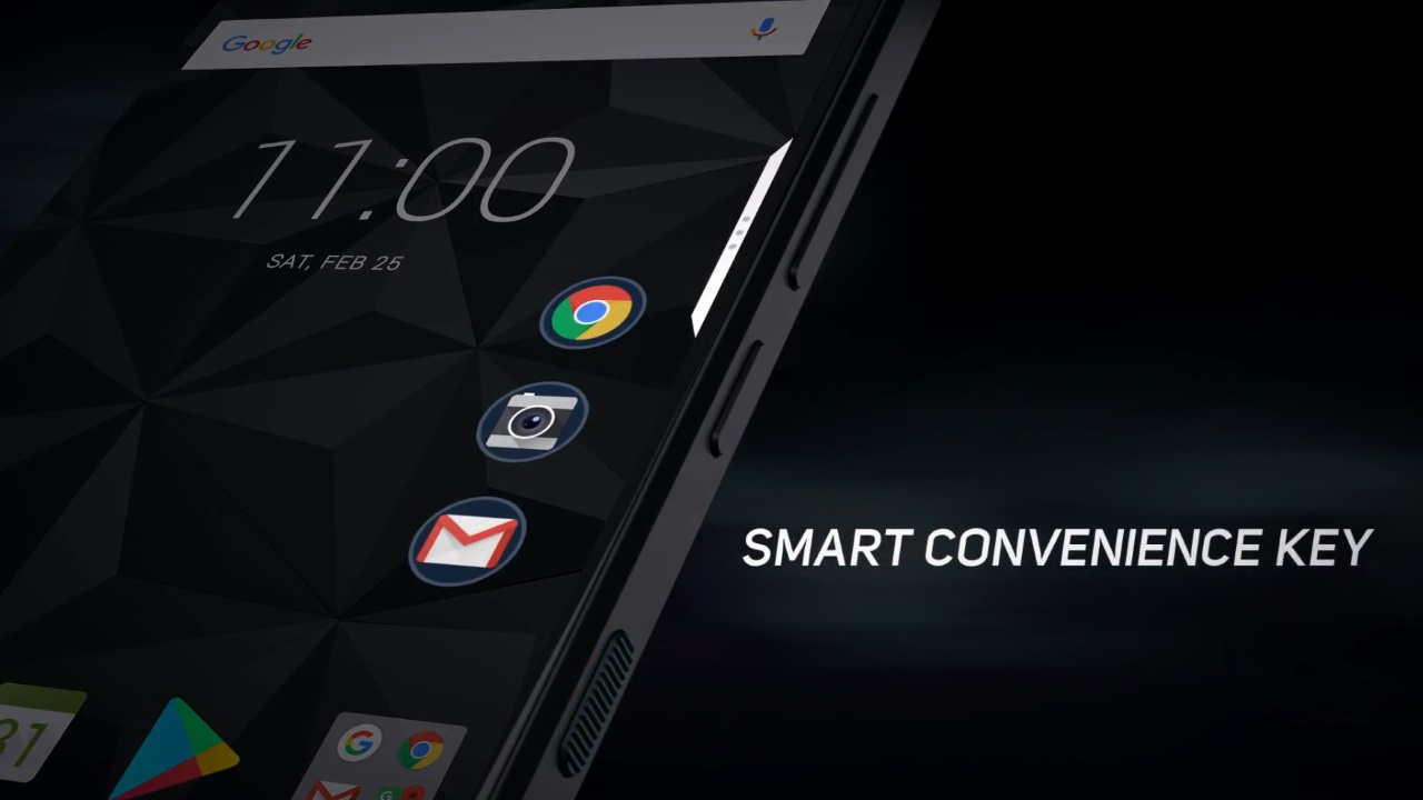 「BlackBerry Motion」のプロモ動画が公開、スマート便利キーの正体も明らかに