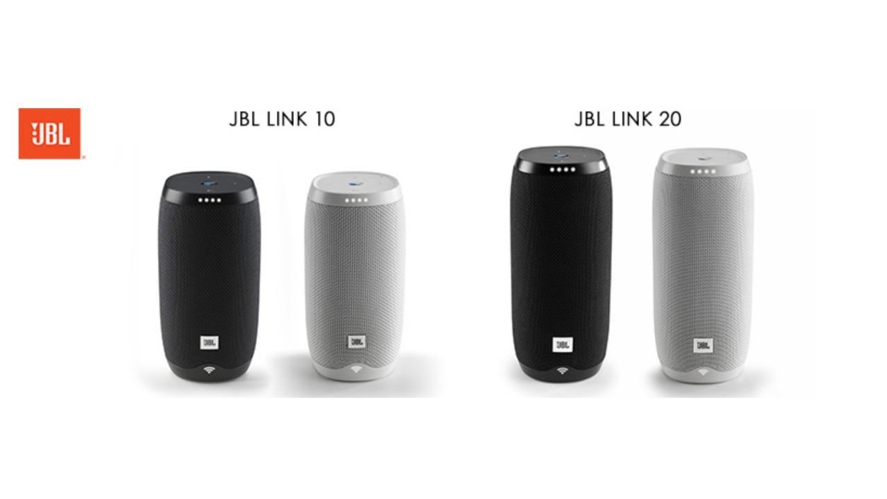 Google アシスタント搭載「JBL LINK 10/20」の国内投入発表