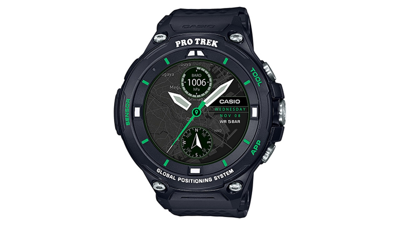 カシオの新型Android Wear「PRO TREK Smart(WSD-F20X)」発売