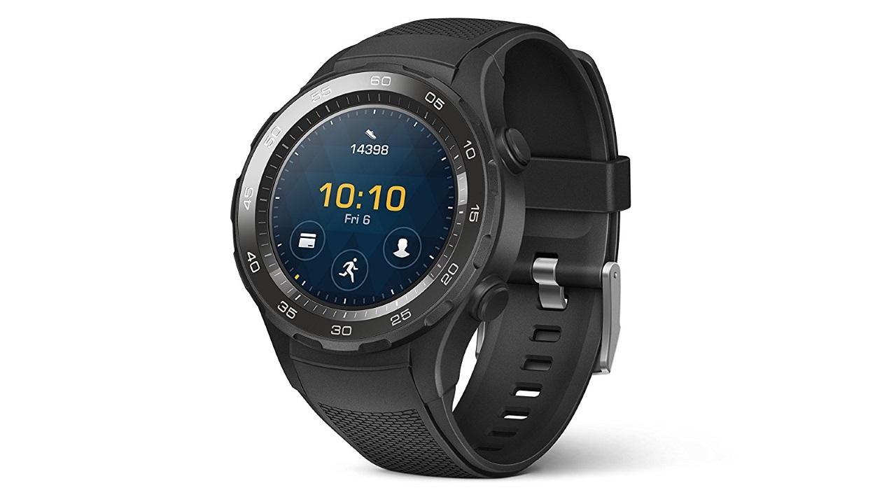 スペインAmazonで「Huawei Watch 2」カーボンブラックが最大46%引き、輸入概算総額24,000円~