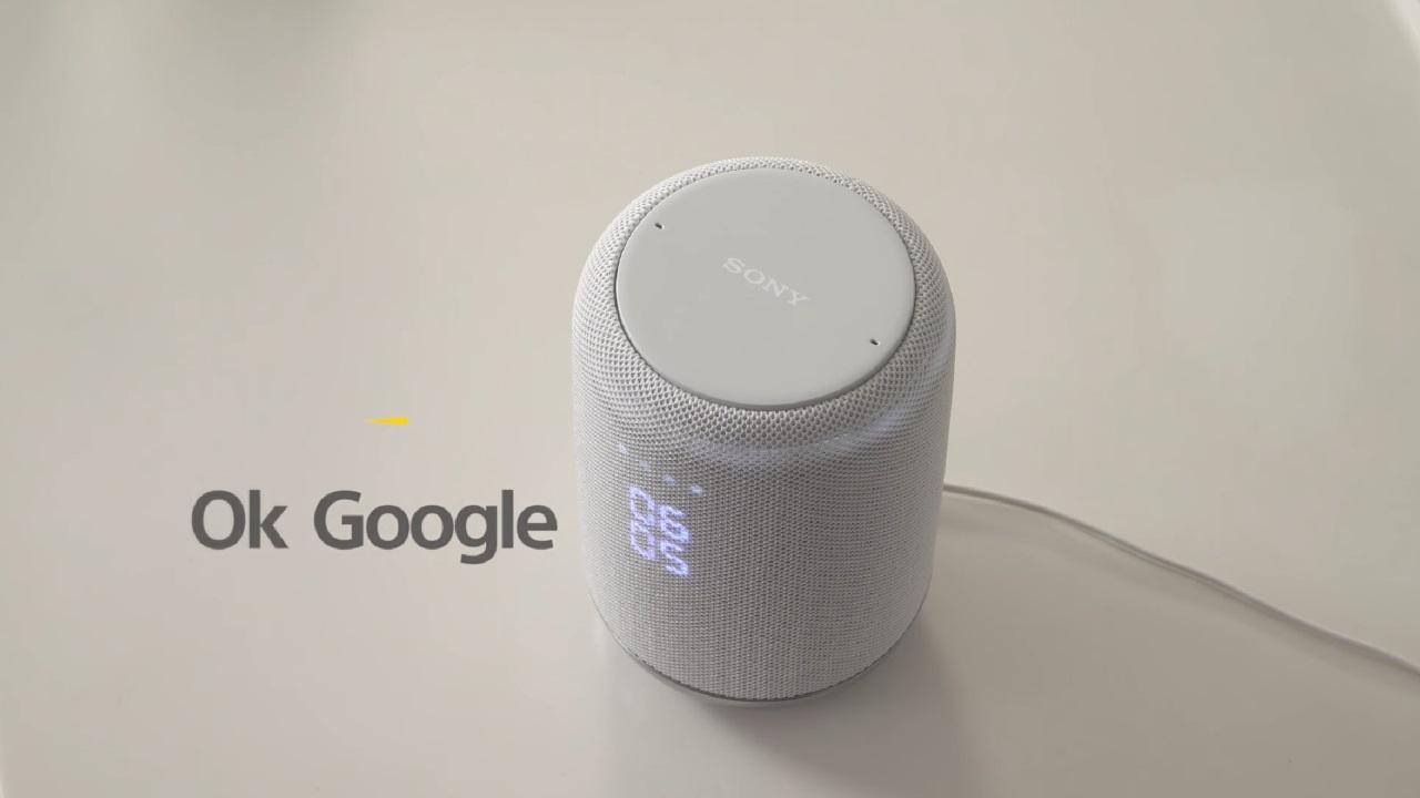 Google Homeスピーカー「Sony LF-S50G」のジェスチャー操作紹介動画