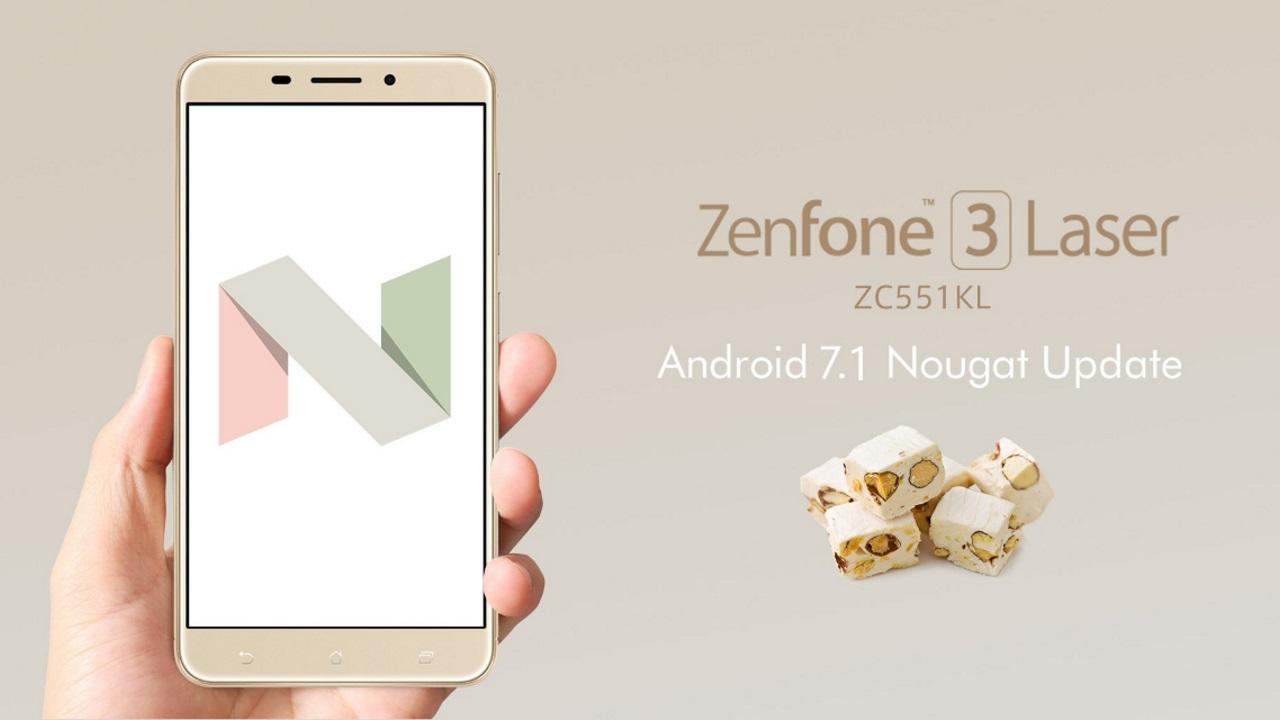 国内版「ZenFone 3 Laser(ZC551KL)」にAndroid 7.1アップデートが配信開始、DSDSもサポート