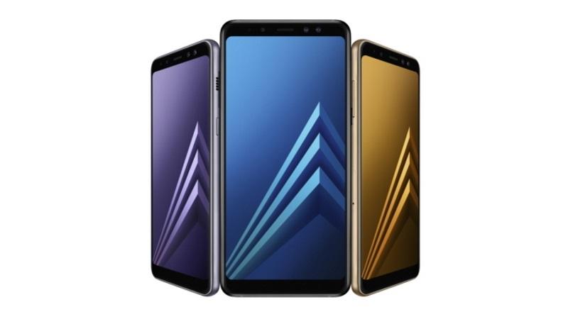 Samsung、インフィニティディスプレイ採用の新型「Galaxy A8(2018)/A8+(2018)」を発表