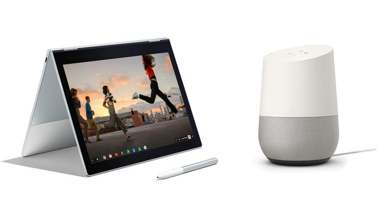 B&H、「PixelBook」に「Google Home」を無料バンドル中