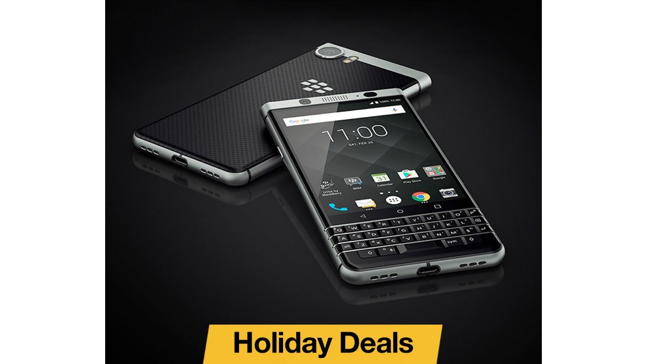 BlackBerryが米国で「BlackBerry KEYone」を再度$100引きに、12月24日まで