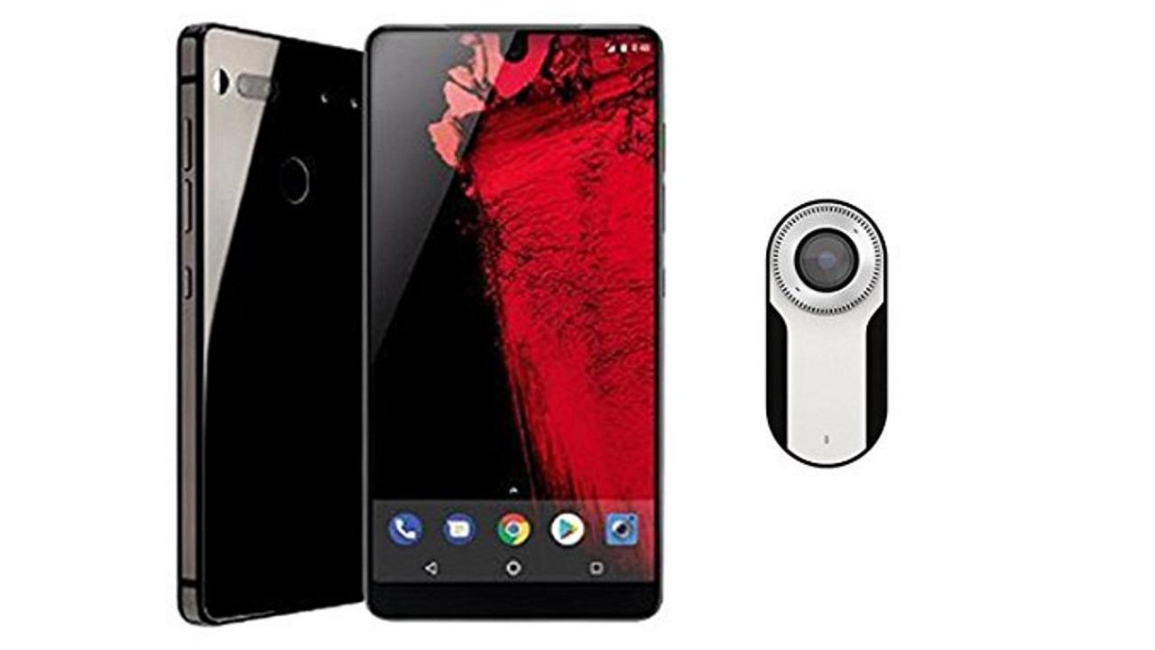 米Amazonで「Essential Phone」単体が$449.00、「360 Camera」バンドルが$499.99