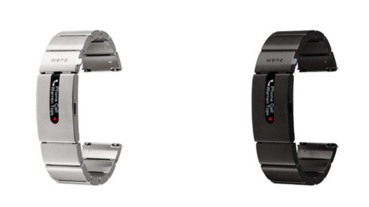 「wena wrist pro/leather」が発売、「wena wrist pro」はいきなり品薄