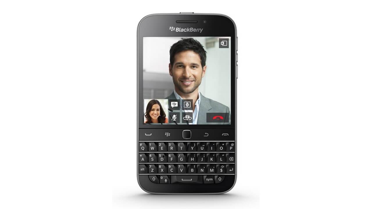 Cloveに「BlackBerry Classic」が数量限定で再入荷!