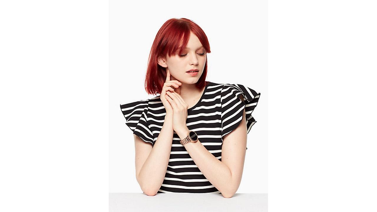 ケイト・スペード初のAndroid Wear「SCALLOP」が米国で予約開始、2月1日発売