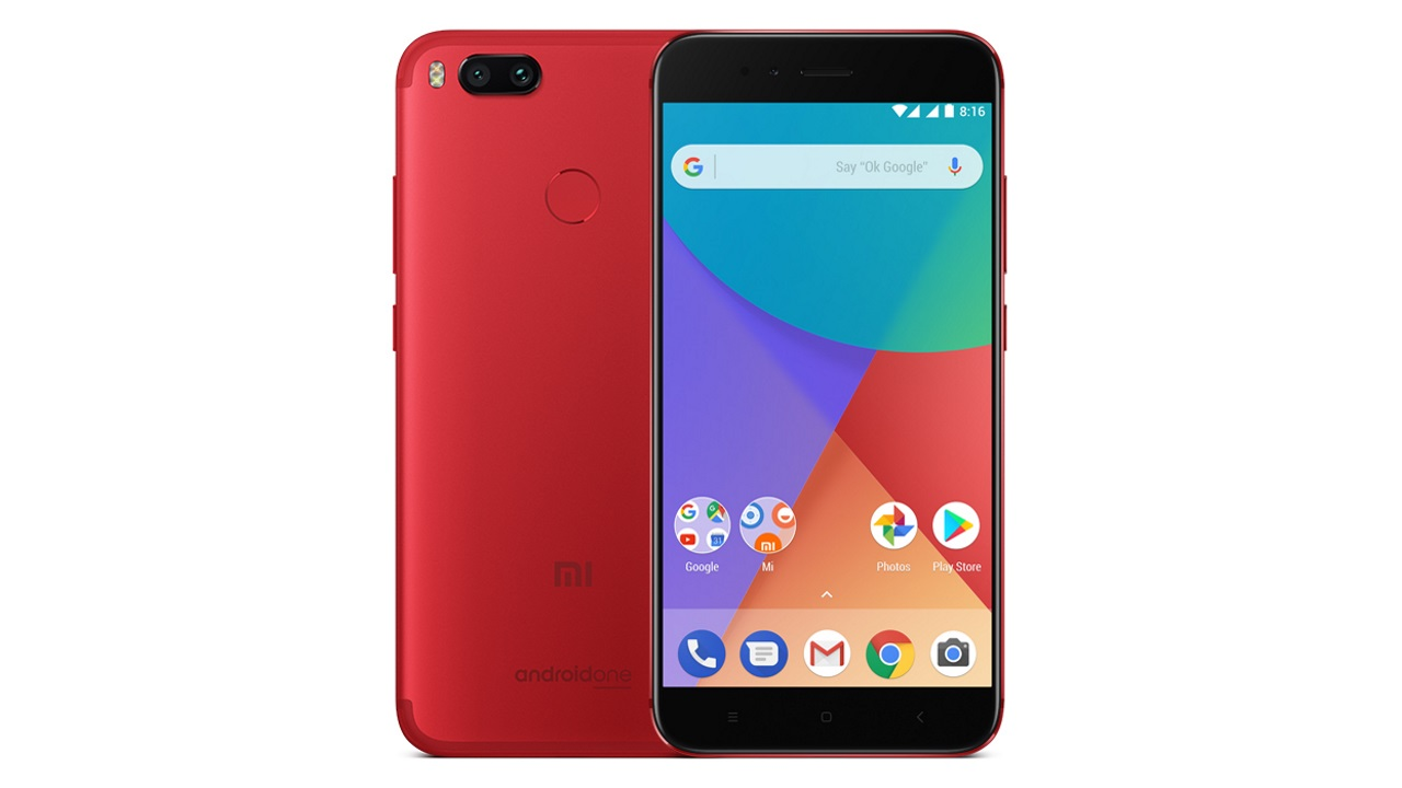 「Xiaomi Mi A1 Special Edition Red」がebayから直輸入可能に