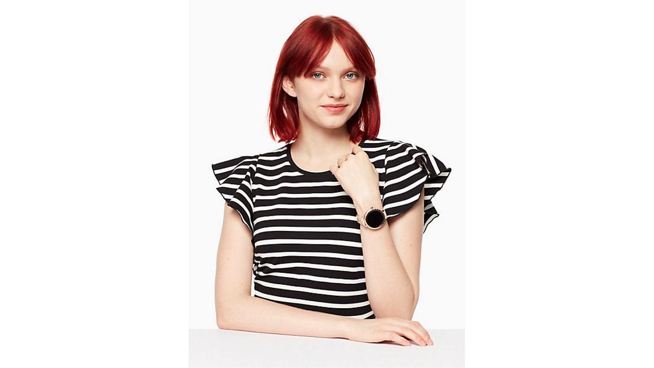 ケイト・スペード初のAndroid Wear「SCALLOP」、国内では2月23日発売
