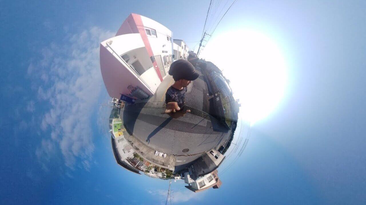 「Essential 360 Camera」にリトルプラネットモードが追加、撮影メニューも日本語化
