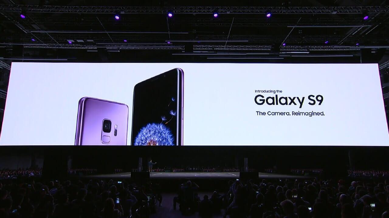 Samsung、カメラと主要スペックを強化した「Galaxy S9/S9+」を発表【MWC 2018】