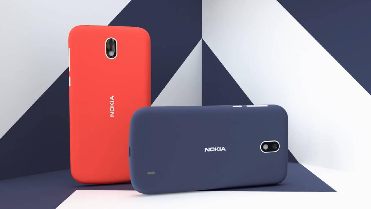 Android Go搭載「Nokia 1」発表【MWC 2018】