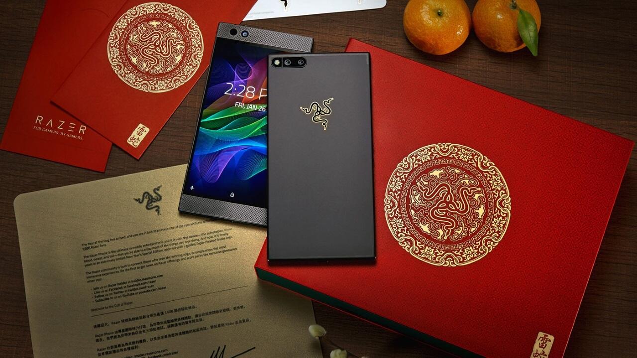 旧正月仕様の「Razer Phone Limited Gold Edition」が発売