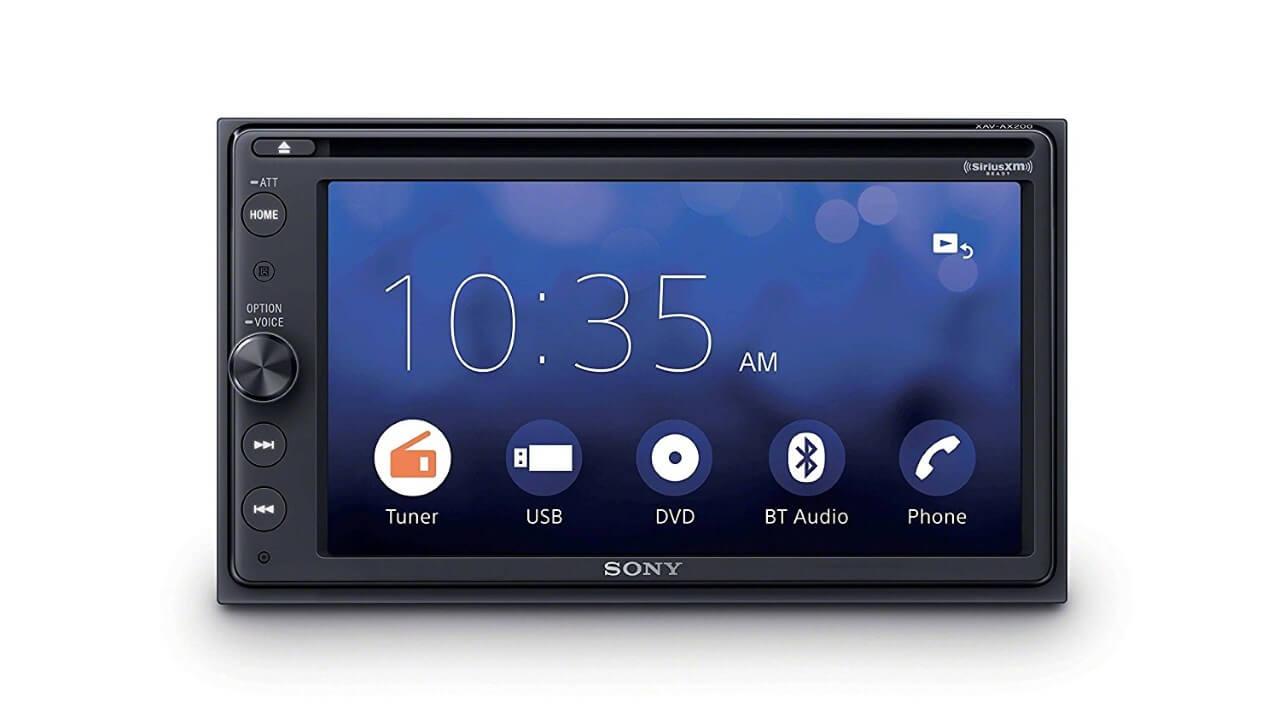 Andoid AutoサポートSony製カーオーディオ「XAV-AX200」が米Amazonで10%引き