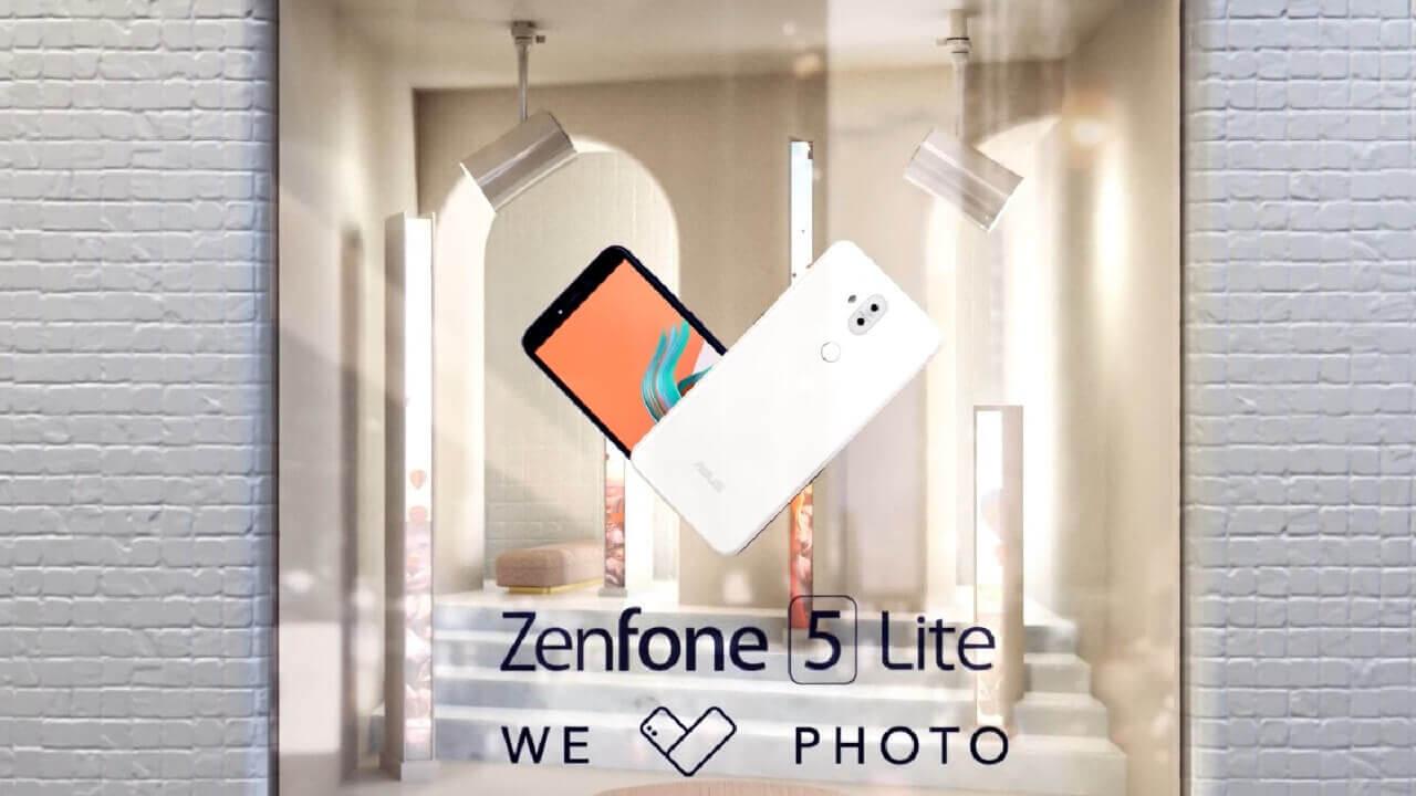 ASUS、前後デュアルカメラ搭載「ZenFone 5 Lite」を発表【MEC 2018】