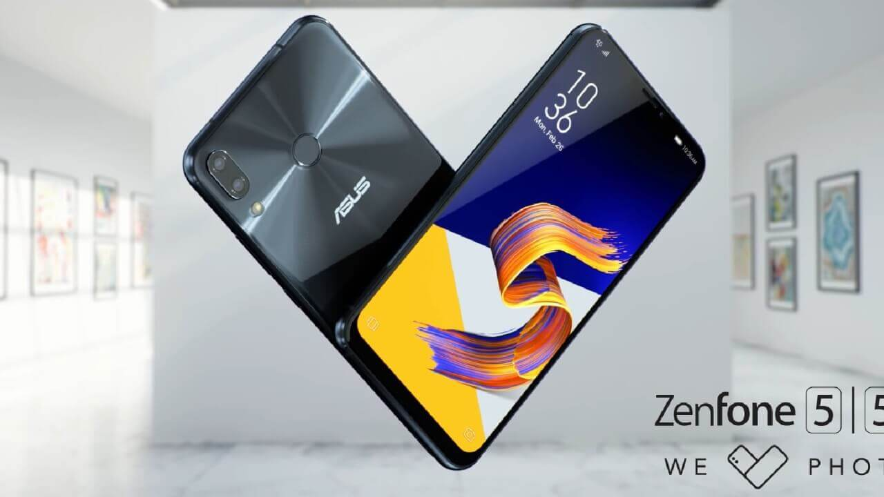 ASUS、ノッチディスプレイ搭載「ZenFone 5/5z」を発表【MWC 2018】
