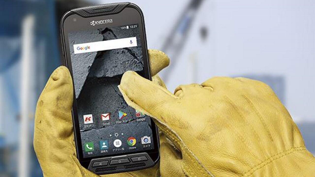 京セラ、高耐久スマートフォン「DURA FORCE PRO」を国内発売