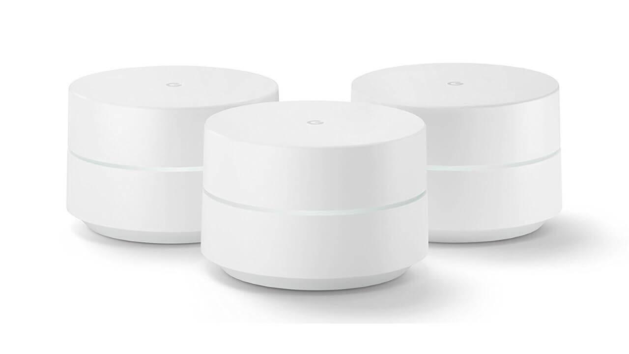 米Amazonで「Google Wifi」3個セットが13%引きに
