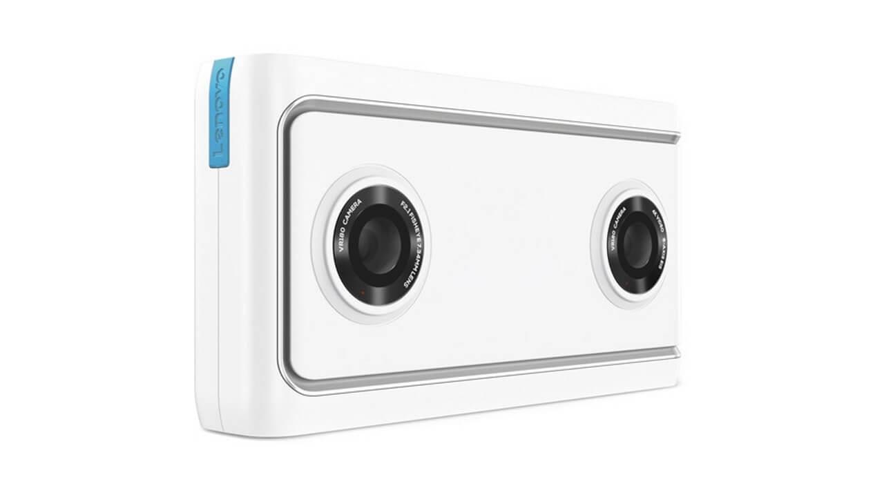 米Amazonが「Lenovo Mirage VR Camera」の予約を開始、5月4日発売予定