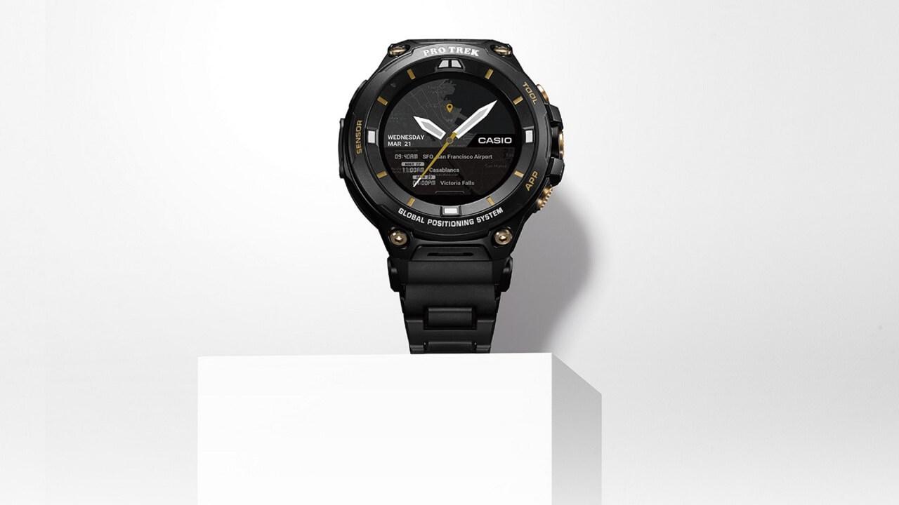 カシオ、世界700本限定Wear OS「PRO TREK Smart WSD-F20SC-BK」を6月8日に発売