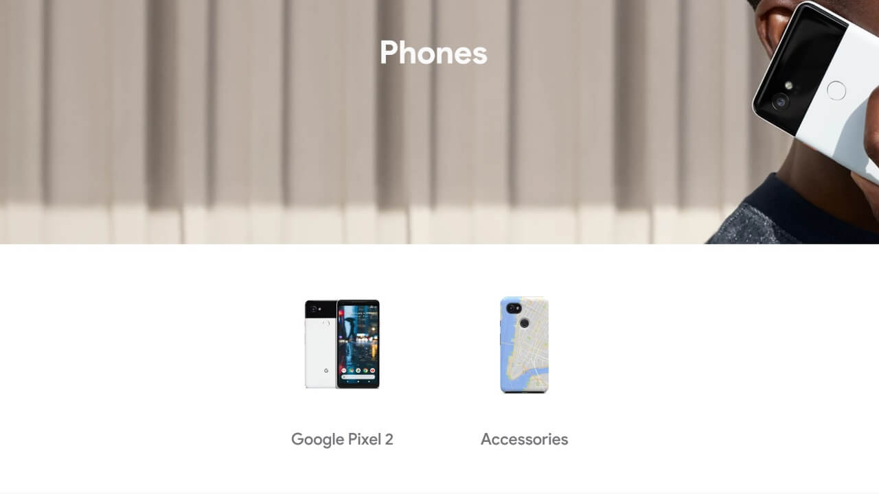 Googleストアで「Pixel/Pixel XL」販売終了