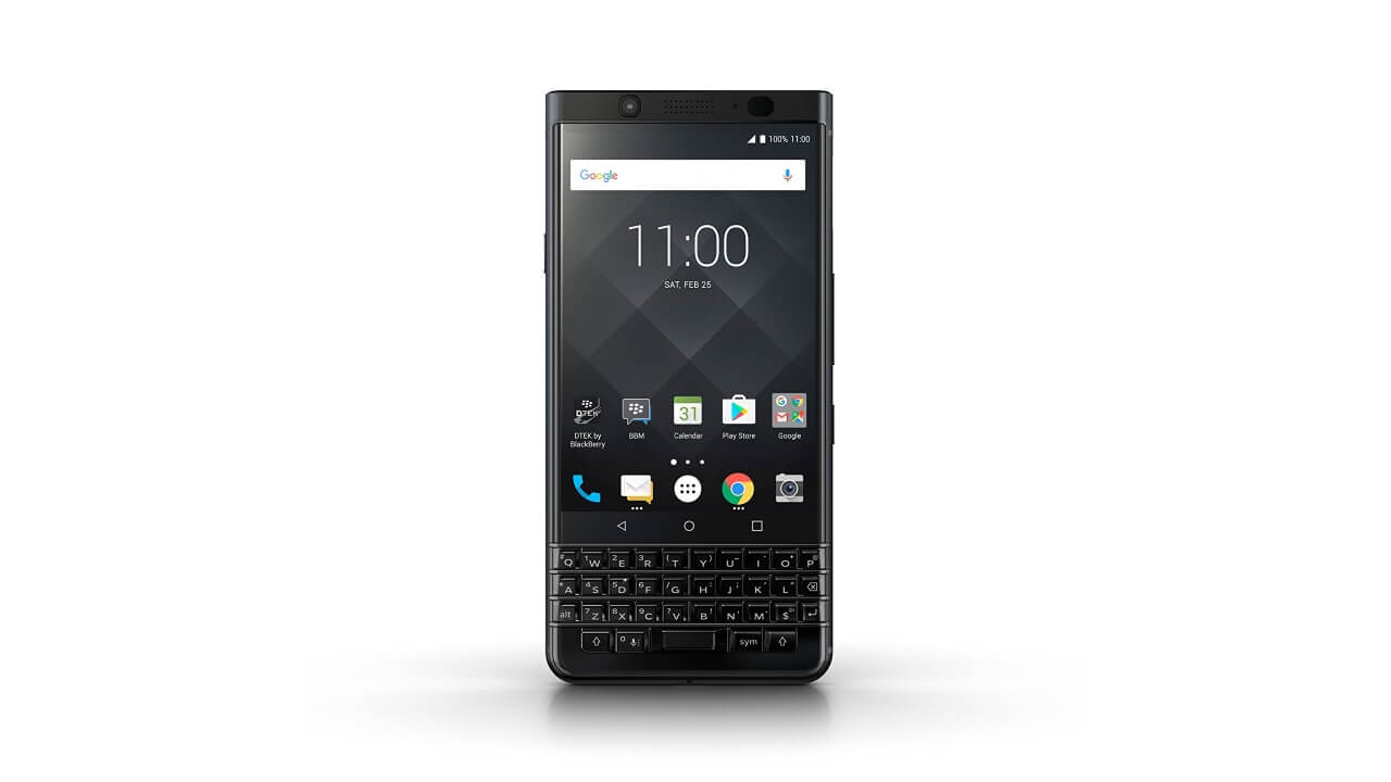 Amazonで「BlackBerry KEYone Black Edition」が17%引きに
