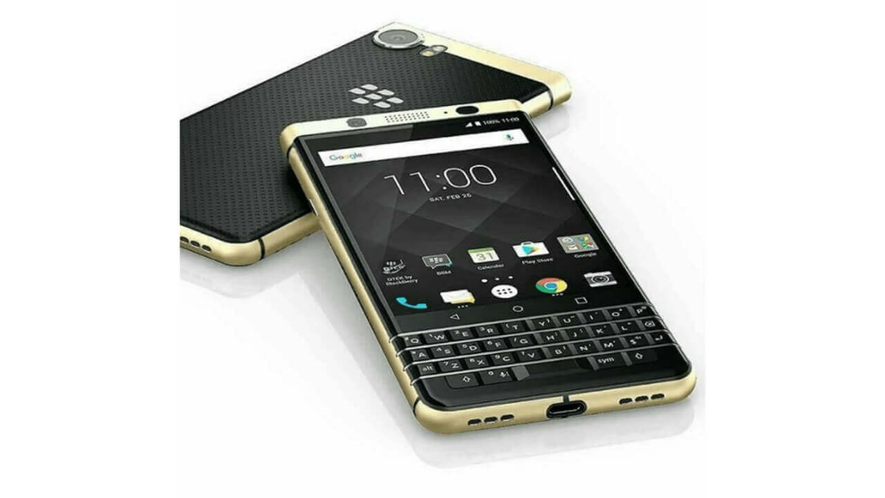 金メッキ仕様の「BlackBerry KEYone SPECIAL EDITION GOLD PLATED」が37%引きで直輸入可能に