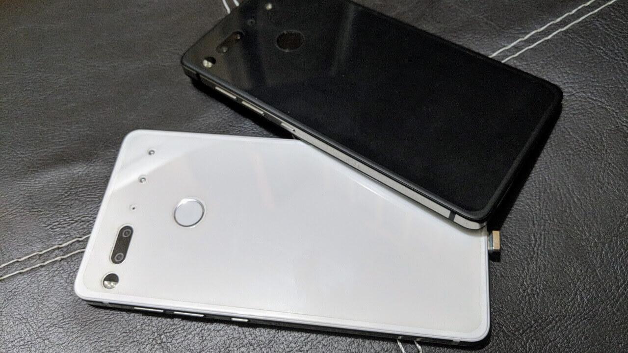 ブラックフライデーぶり!「Essential Phone」が$399.99に