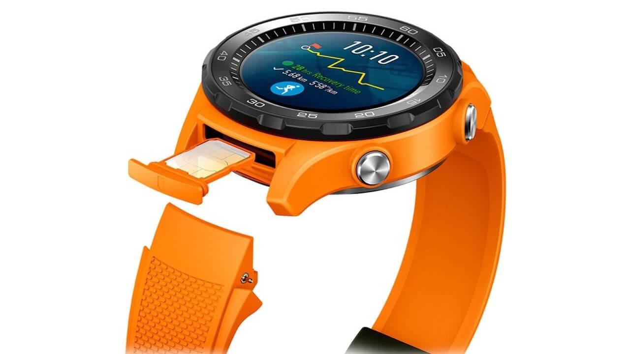 Amazonから「Huawei Watch 2」セルラーモデルを意外と安価に購入可能