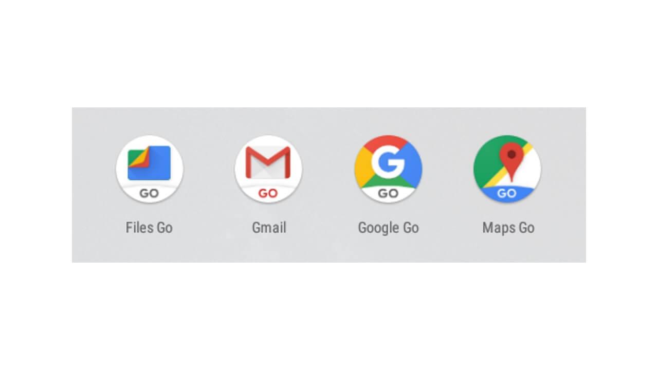 Android Goにプリインストールされている5つのGoアプリ