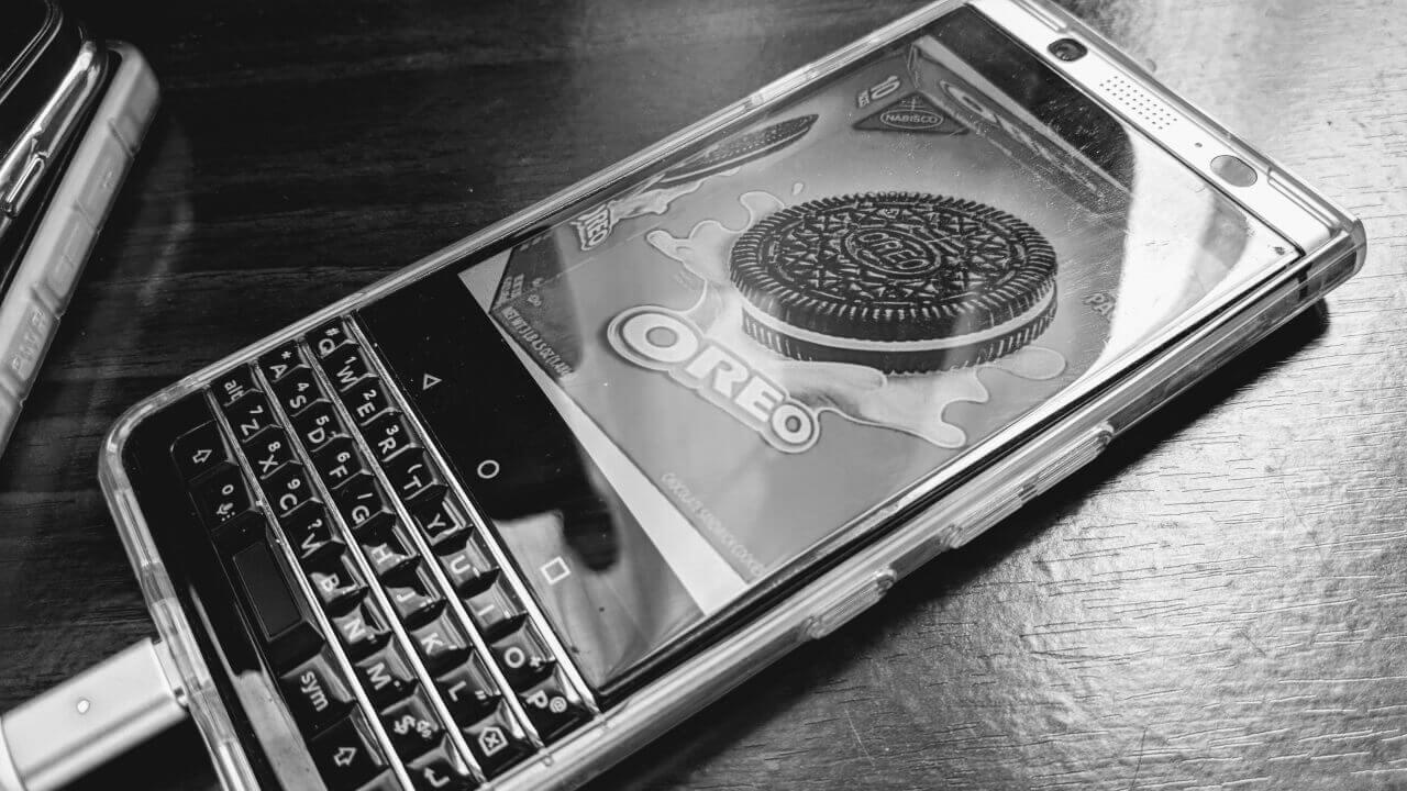 「BlackBerry KEYone」にベータ版Android 8.0アップデートが配信
