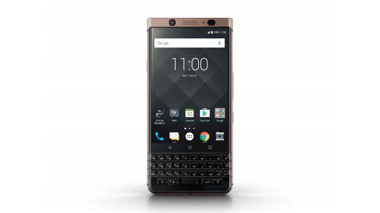 より安価に輸入できる「BlackBerry KEYone Bronze Edition」がebayに登場