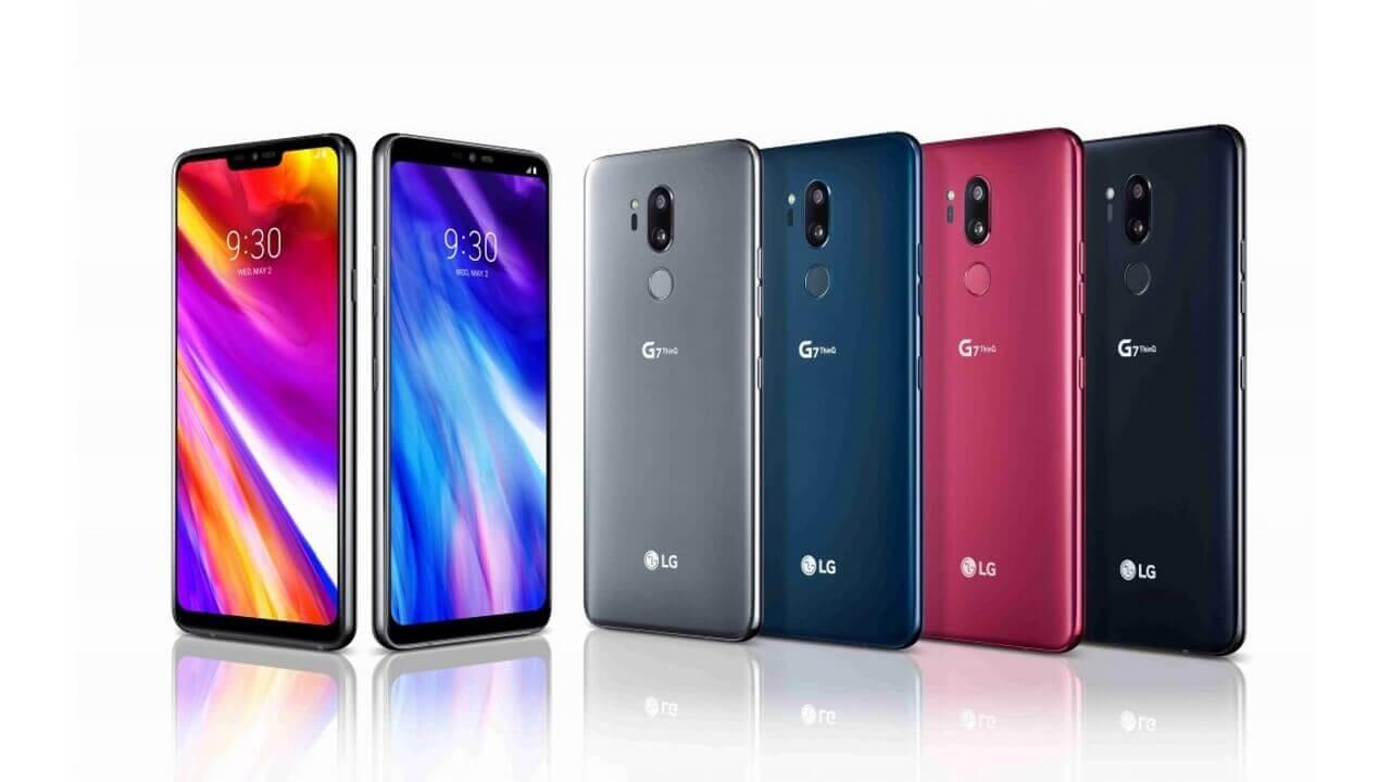 1ShopMobileにデュアルSIMモデルの「LG G7 ThinQ/G7+ ThinQ」が入荷