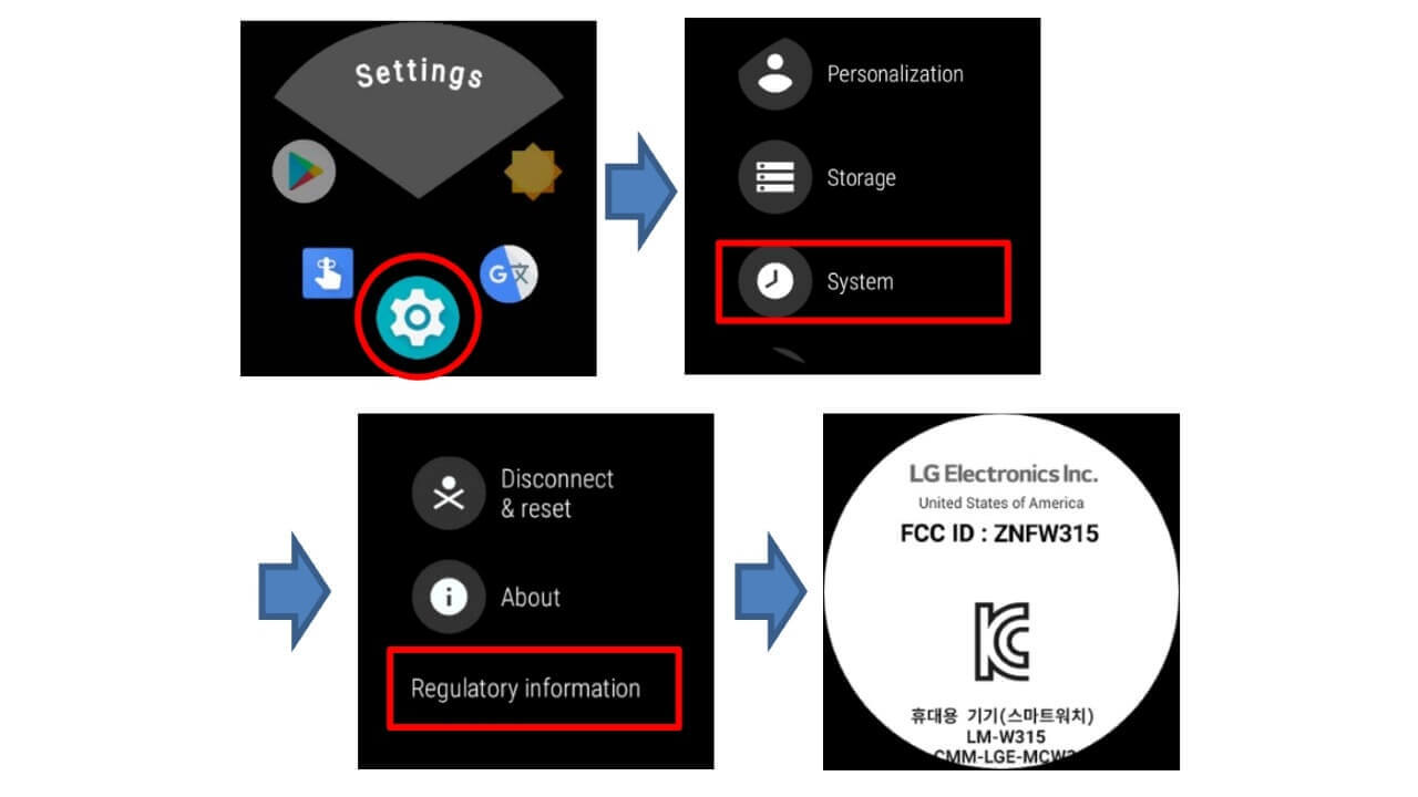 LG製新型Wear OSウォッチ「ZNFW315」がFCCの認証を取得