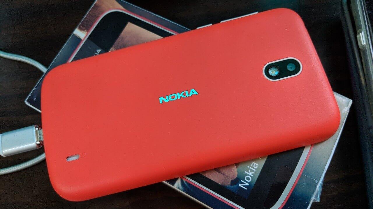 Android Goの「Nokia 1」、まさかのドコモVoLTEをサポート【レポート】