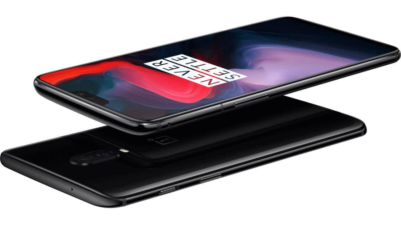 新フラッグシップ「OnePlus 6」発表、LTE B19やFOMAプラスエリアをサポート