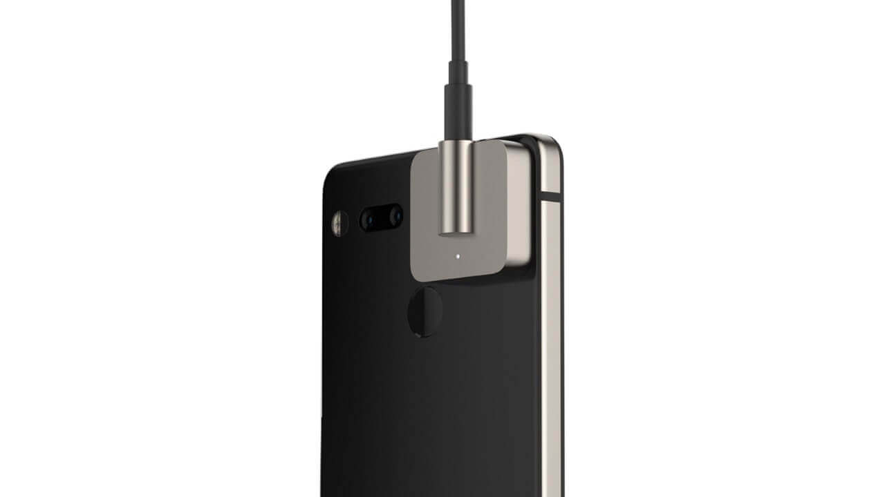 「Essential Phone」用新型ヘッドホンジャックモッド「Audio Adapter HD」発表