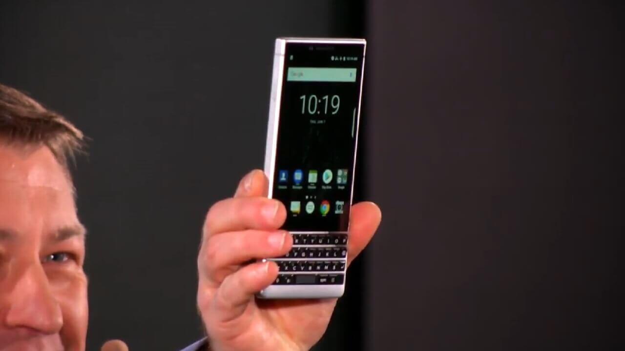 「BlackBerry KEY2」正式発表、「Google レンズ」プリイン