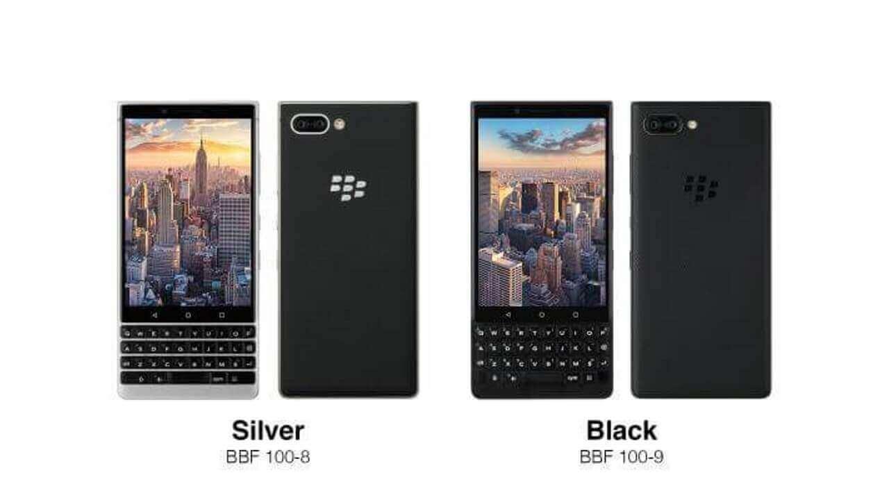 FOXが国内向け「BlackBerry KEY2」のプレスリリースを修正発表、結局海外モデルと同等スペック