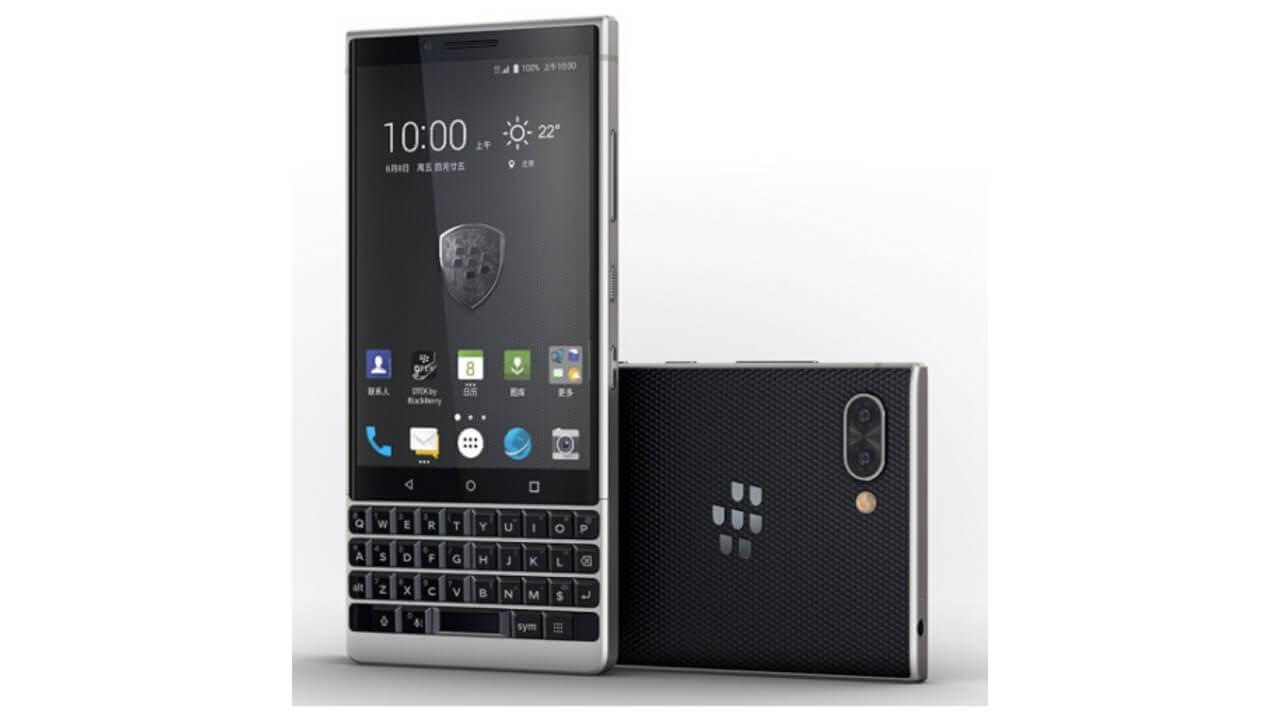 「BlackBerry KEY2」がebayに出品される、ただし中国モデル