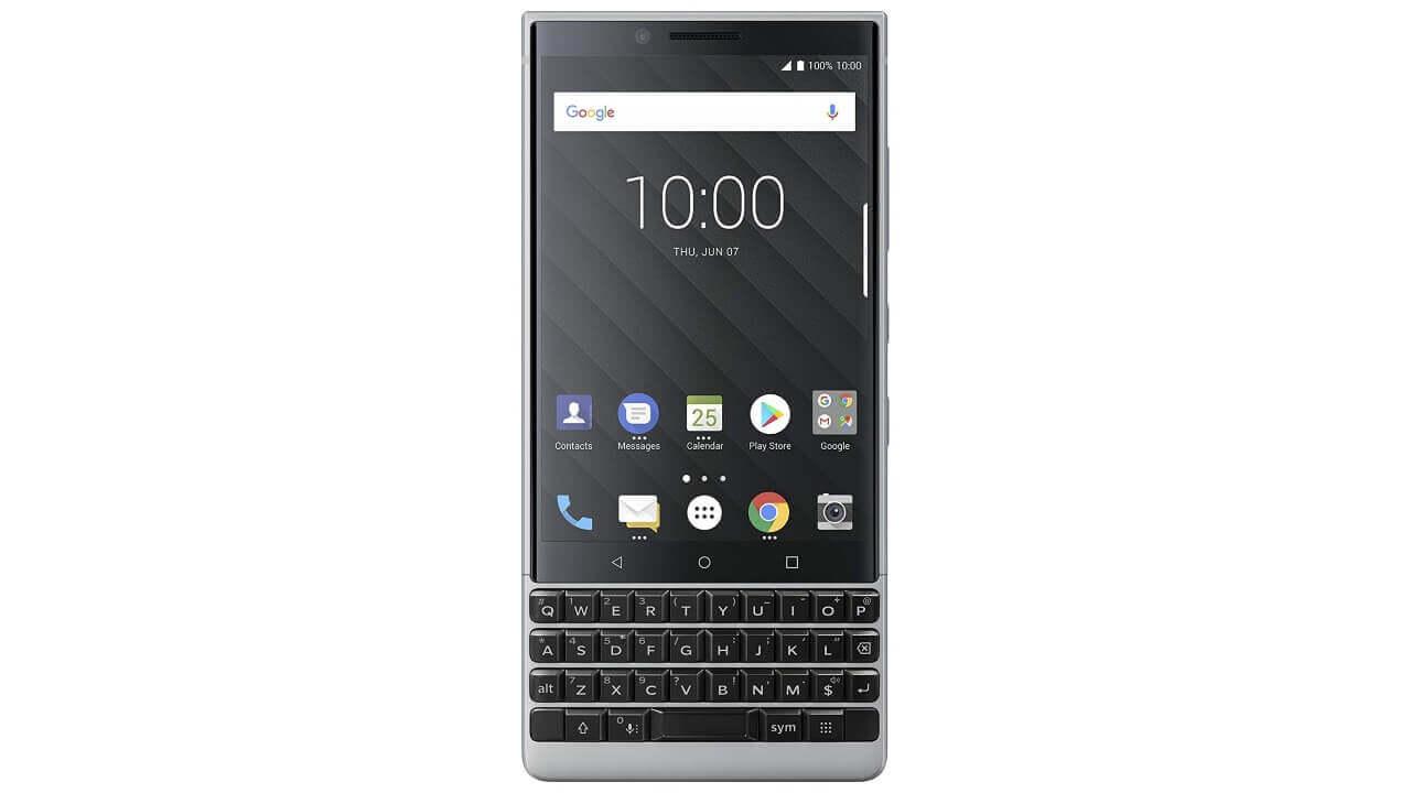 イオシスにデュアルSIMモデルの「BlackBerry KEY2」が入荷